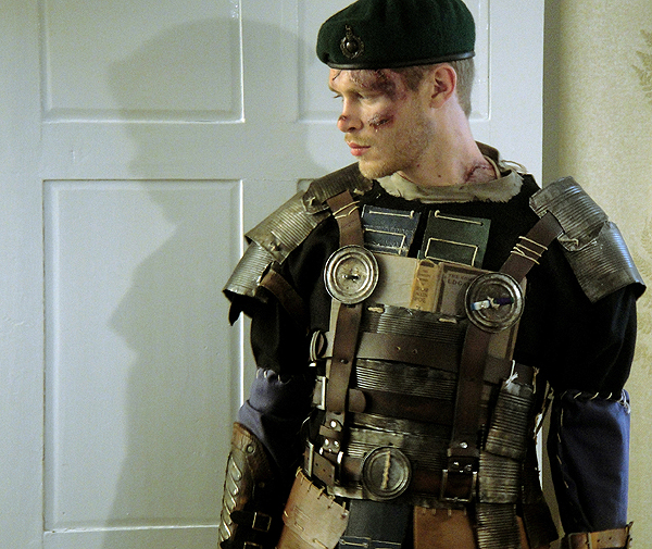 Joseph Morgan in Warhouse