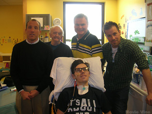 Visiting Patients at the Children's Hospital in Cincinnati, OH
