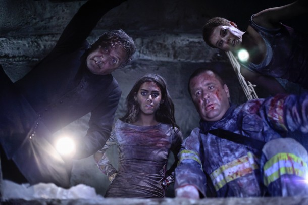 Horrors await the cast of Aftershock