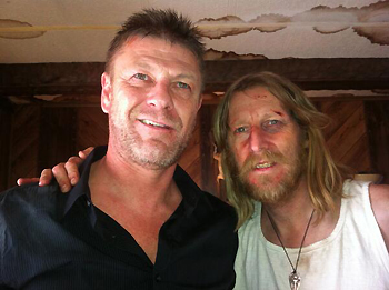 Sean Bean and Lew Temple in Wicked Blood