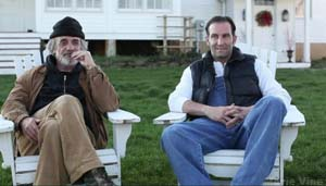 Terry Kiser and Kevin Sizemore