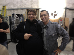 Clifton and Guillermo del Toro