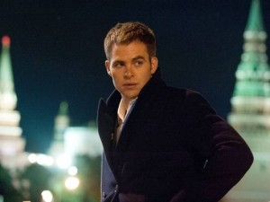 "Chris Pine as Jack Ryan in ""Jack Ryan: Shadow Recruit""."