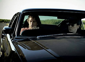 Thomas Jane and John Cusack in Drive Hard.