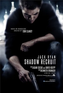 "The first teaser poster for ""Jack Ryan: Shadow Recruit""."