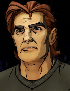 "Gavin Hammon as Beast in, ""The Wolf Among Us""."