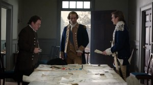 Ian Kahn as George Washington, Seth Numrich as Benjamin Tallmadge and Stephen Root as Nathaniel Sackett.