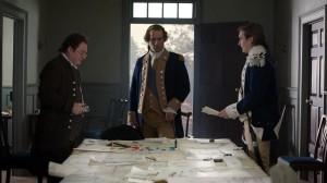 Ian Kahn as George Washington, Seth Numrich as Benjamin Tallmadge and Stephen Root as Nathaniel Sackett.