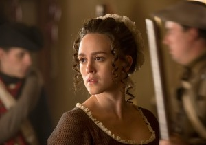 Heather Lind as Anna Strong.