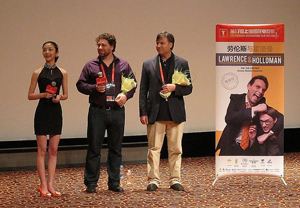 Matthew and Paul Armstrong at Shanghai International Film Festival
