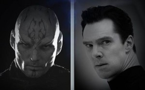 "The previous two villains of the ""Star Trek"" films, Nero and Khan Noonien Singh."