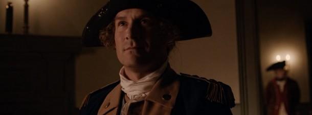 "George Washington portrayed by Ian Kahn in ""TURN: Washington's Spies""."