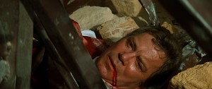 "James T. Kirk's death in ""Star Trek Generations""."