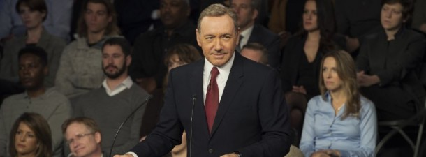 """Kevin Spacey as Frank Underwood in """"House of Cards"""" Season 3."""