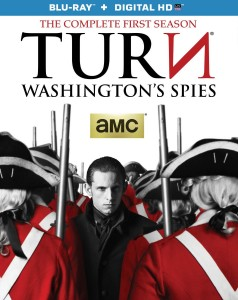 """TURN: Washington's Spies"" Blu-ray Box Art"