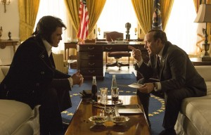 "Kevin Spacey as Richard Nixon and Michael Shannon as Elvis Presley in ""Elvis & Nixon""."