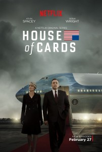 """House of Cards"" Season 3 poster."