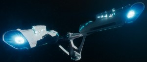 "The USS Enterprise in ""Star Trek Into Darkness""."
