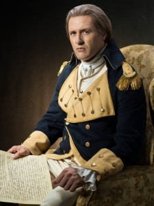 "Jason O'Mara as George Washington in ""Sons of Liberty""."