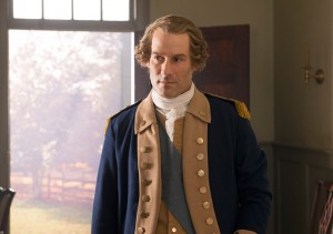 "Ian Kahn as George Washington in ""TURN: Washington's Spies""."