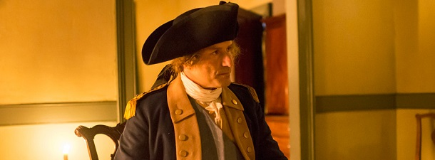 "George Washington - ""TURN: Washington's Spies"" Season 1."
