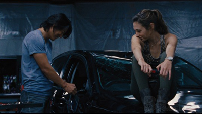 Sung Kang and Gal Gadot