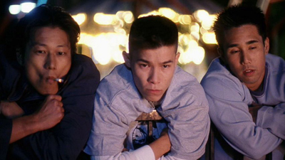 Sung Kang, Parry Shen and Jason Tobin in Better Luck Tomorrow