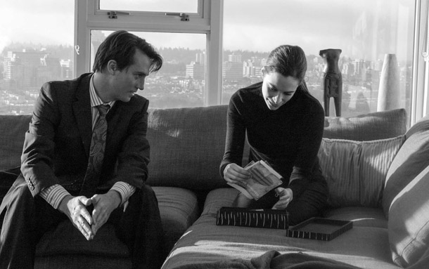 Jim Thorburn and Kathleen Munroe in Motive.
