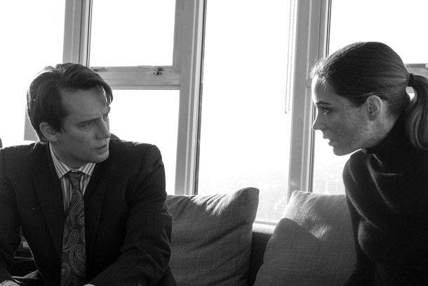 Jimmy Thorburn and Kathleen Munroe in Motive.